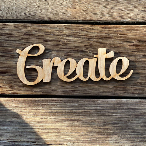 Plywood word - Create