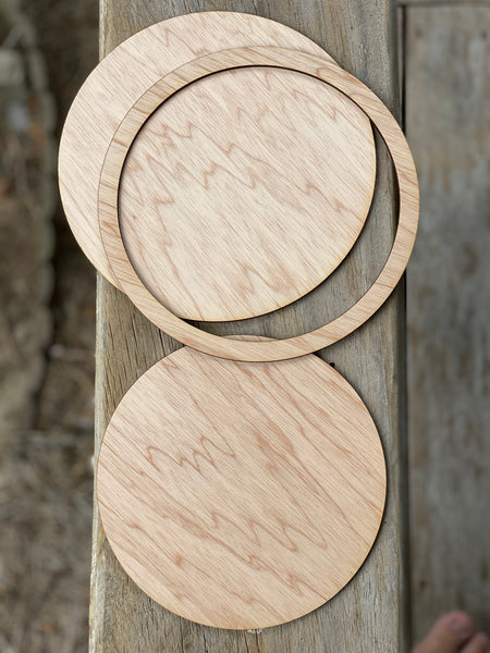 Circle Frame- Plywood