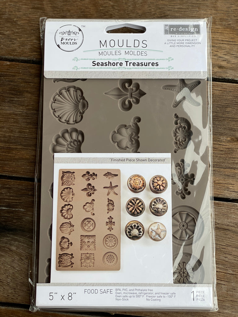 Prima Re Design Mould - Seashore Treasures