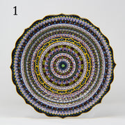 "HAND MADE TURKISH CERAMIC PLATE, 30 cm(11.8"") P01 - TurkishLights.NET"
