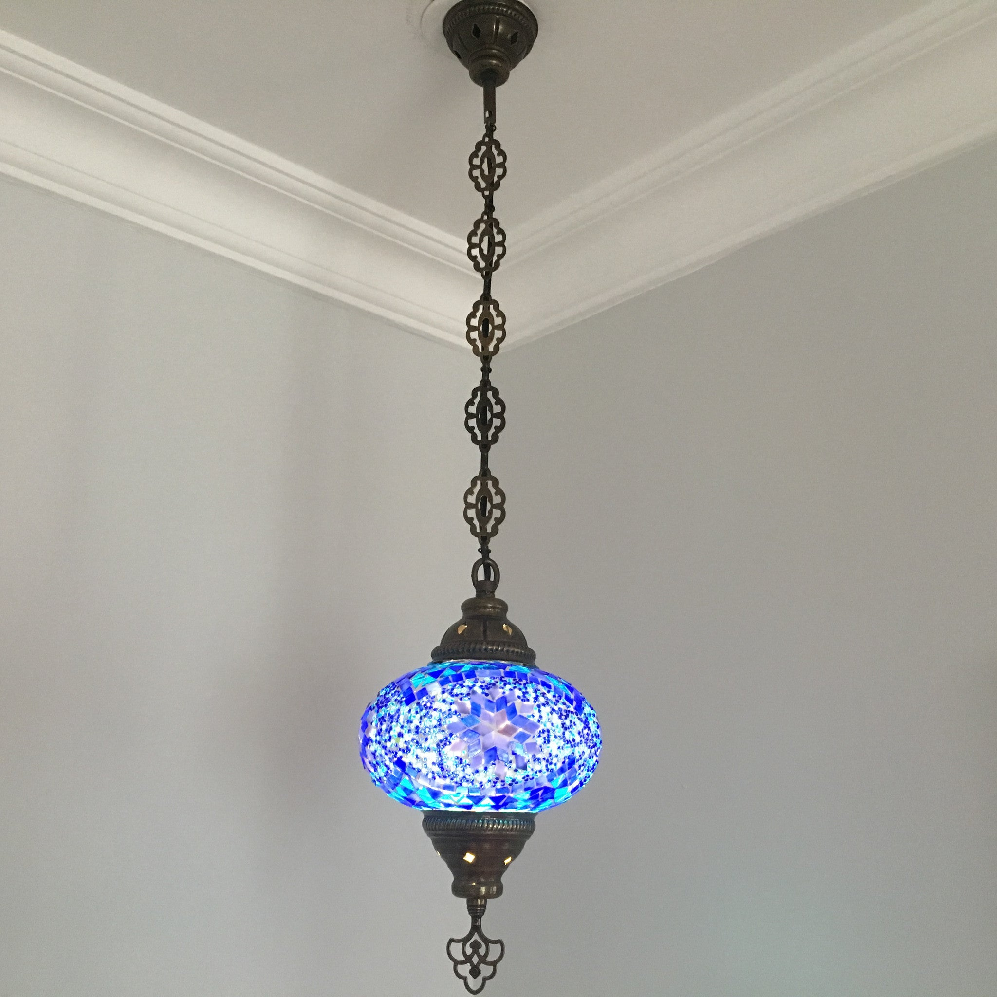 how to make handmade hanging lamps