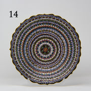 "HAND MADE TURKISH CERAMIC PLATE, 30 cm(11.8"") no14 - TurkishLights.NET"
