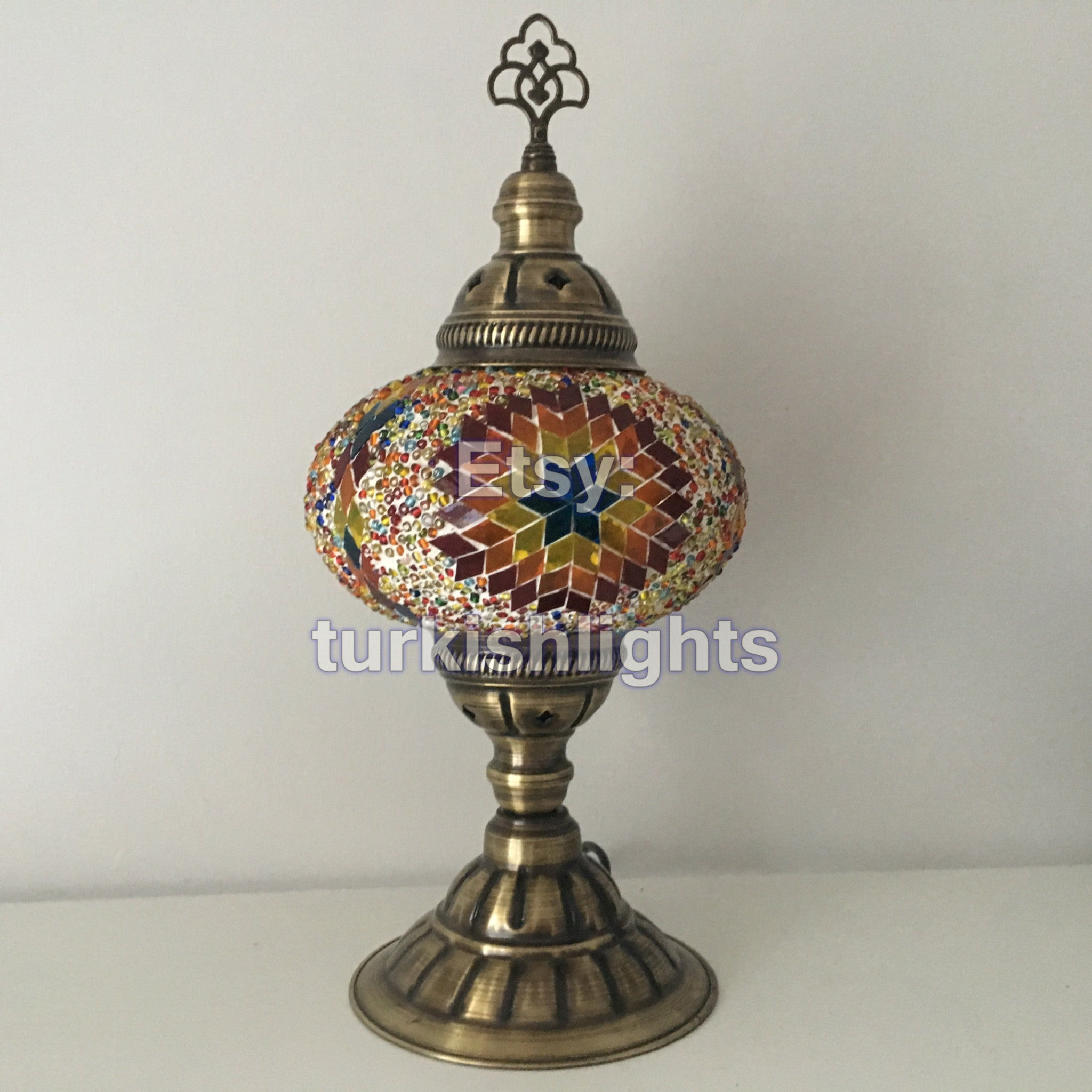 lantern mosaic lamp candlestock products white table