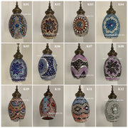Turkish Handmade Mosaic Hanging Pendant - Kitchen Island Pendant