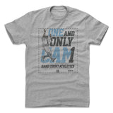 Mens Cotton T-Shirt Heather Gray