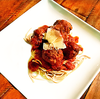 Spaghetti and Wagyu Beef Meatballs