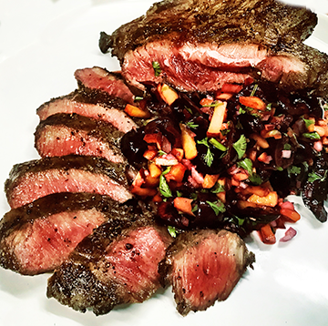 Grilled Wagyu Flat Iron Steak