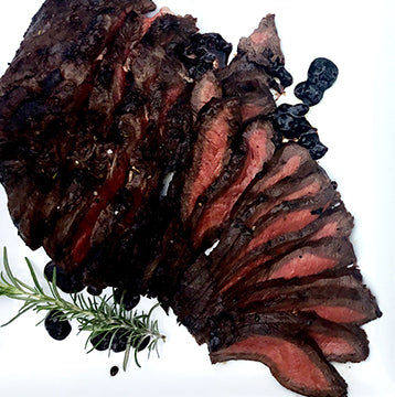 Grilled Wagyu Beef Flat Iron Steak Recipe