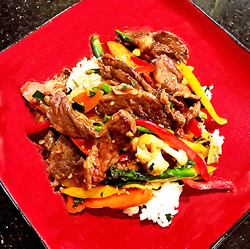 Wagyu Skirt Steak Stir Fry