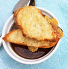 French Onion Soup with Wagyu Beef Stock
