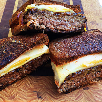 Wagyu Beef Patty Melts