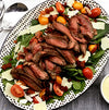 Honey Mustard Marinated Sirloin Tip Steak Salad