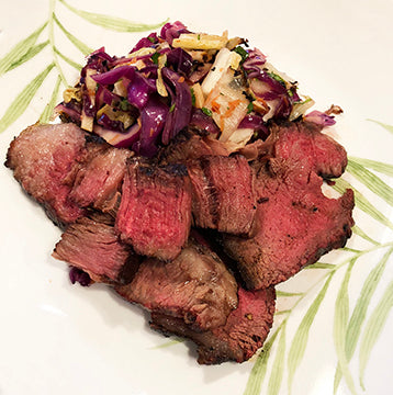Sweet & Spicy Grilled Wagyu Beef Chuck Roast