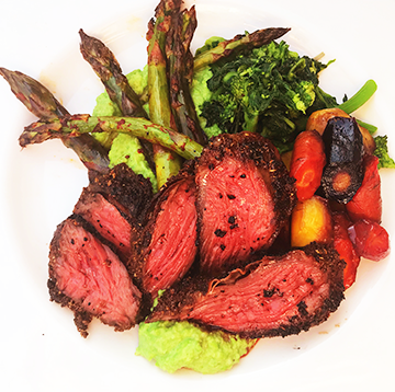 Coriander and Cumin Wagyu Beef Hanger Steak