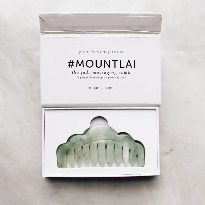 Tools:  Mount Lai Jade Massaging Comb