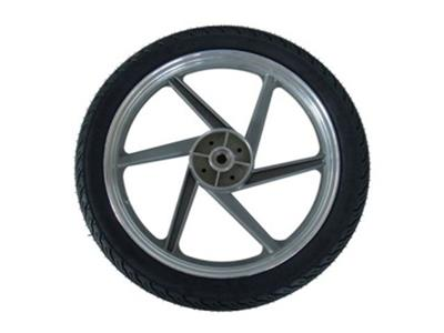 Wheel 6-spoke grey 2.75x17 left