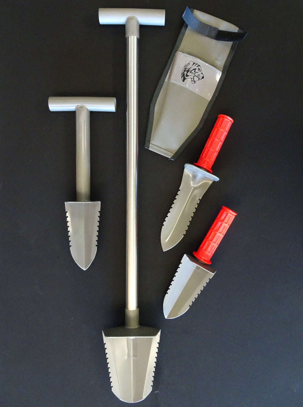 Set of 4 Tyger Digging Tools - XL Pack
