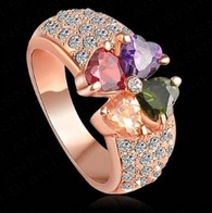 Rose Gold Flower Ring - Kwik Selections