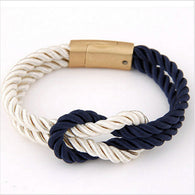 Braided Rope Chain Bracelet