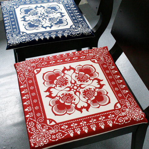 Classical triditional pattern cotton cushion