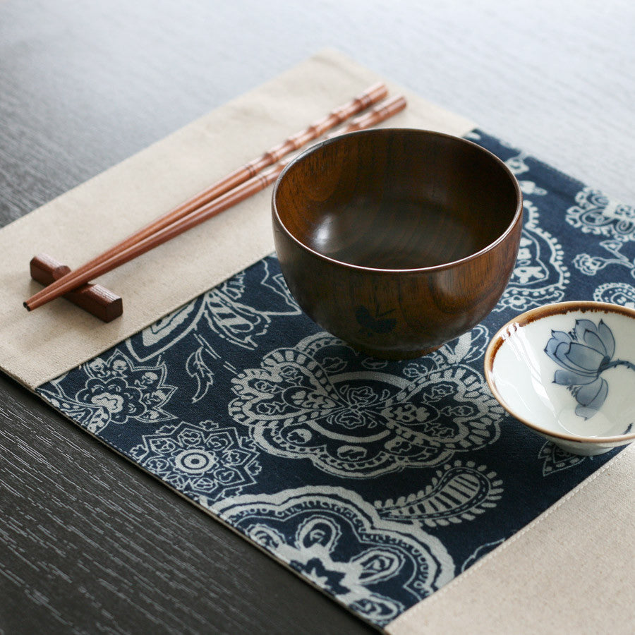Color split joint fabric tablecloth - The image of South of China