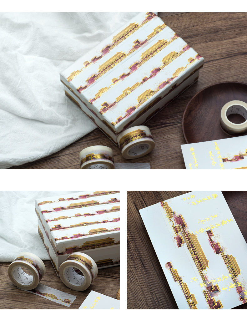 Chinese ancient palace washi tape - cultureincart.com