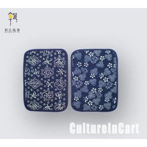 Blue Calico Big Coaster - cultureincart.com