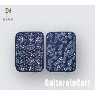 Blue Calico Big Coaster