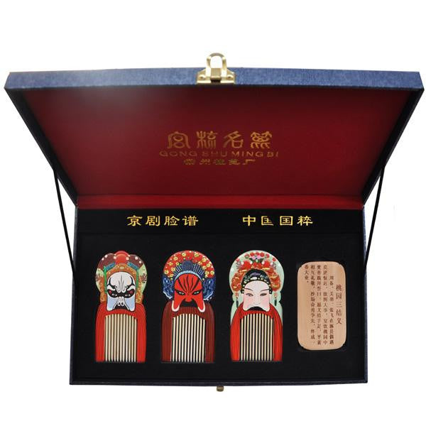 Romance of the Three Kingdoms Masks ChangZhou Comb Suite