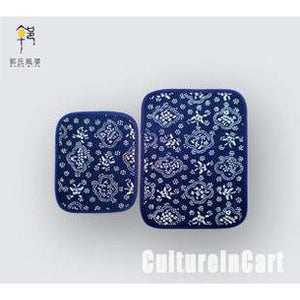 Blue Calico Small Coaster - cultureincart.com