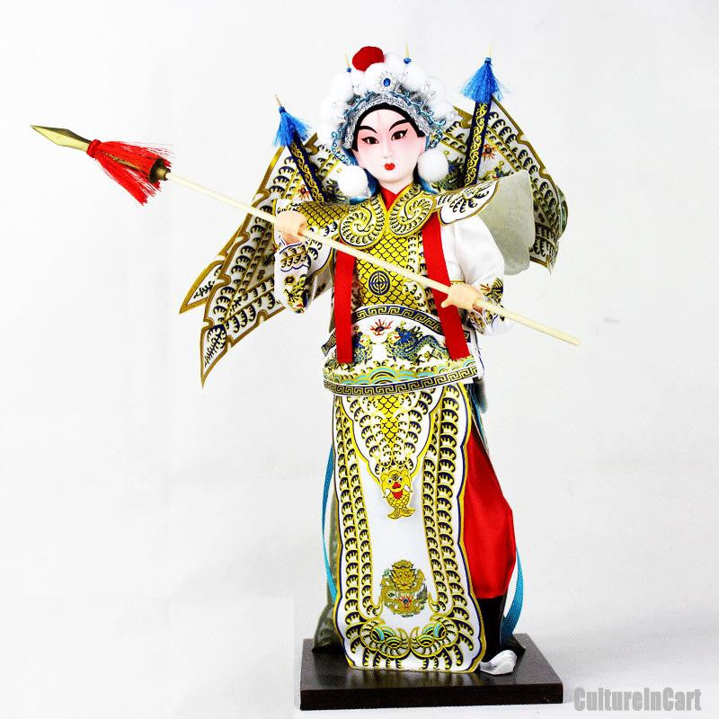 Romance of the Three Kingdoms Silk Figure - ZhaoYun