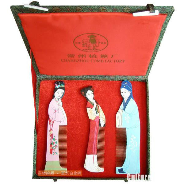 ChangZhou Comb Suite Romance of the Western Chamber Figure