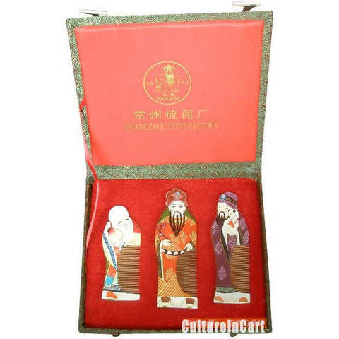ChangZhou Comb Suite Longevity Luck and Wealth