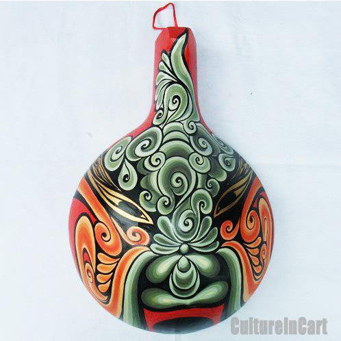 God of Lucky Hand Painting Ladle Mask