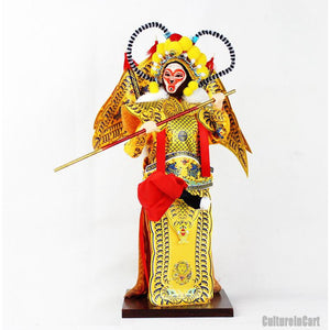 Journey to the West Silk Figure - Monkey King - cultureincart.com