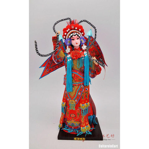 Silk Figure - Yang Generals MuGuiYing