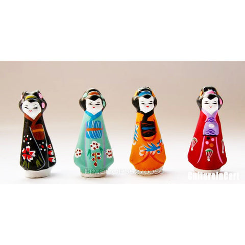Clay Figurine - Four Beauties