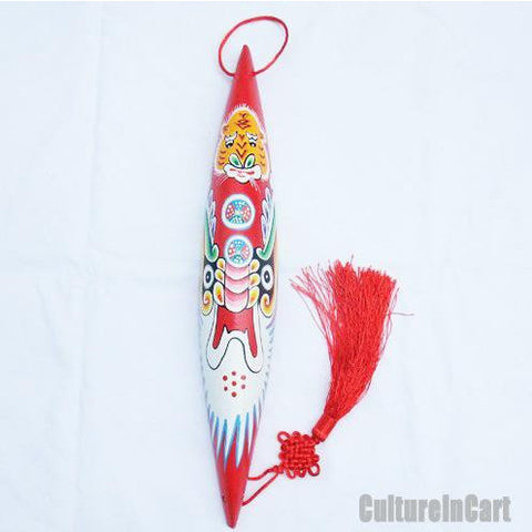 Stabilize House Tiger Hand Painting Shuttle Ladle Mask