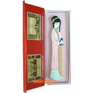 ChangZhou Comb Dream of Red Mansions Figure LinDaiYu - cultureincart.com