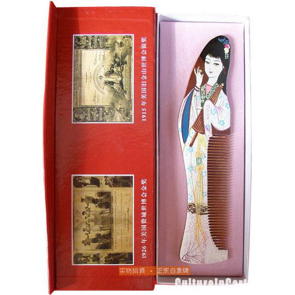 White Snake Comb - White Lady
