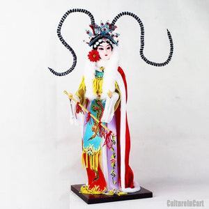 Four Beauties Silk Figure - Wang Zhaojun - cultureincart.com