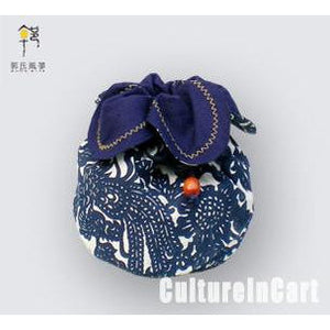 Blue Calico Medium-Sized Petal Parcel - cultureincart.com