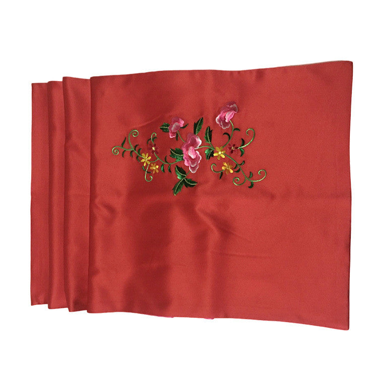Chinese classical style handmade natural silk Suzhou embroidery  scarves - cultureincart.com