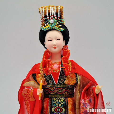 Silk Figure Queen WuZeTian