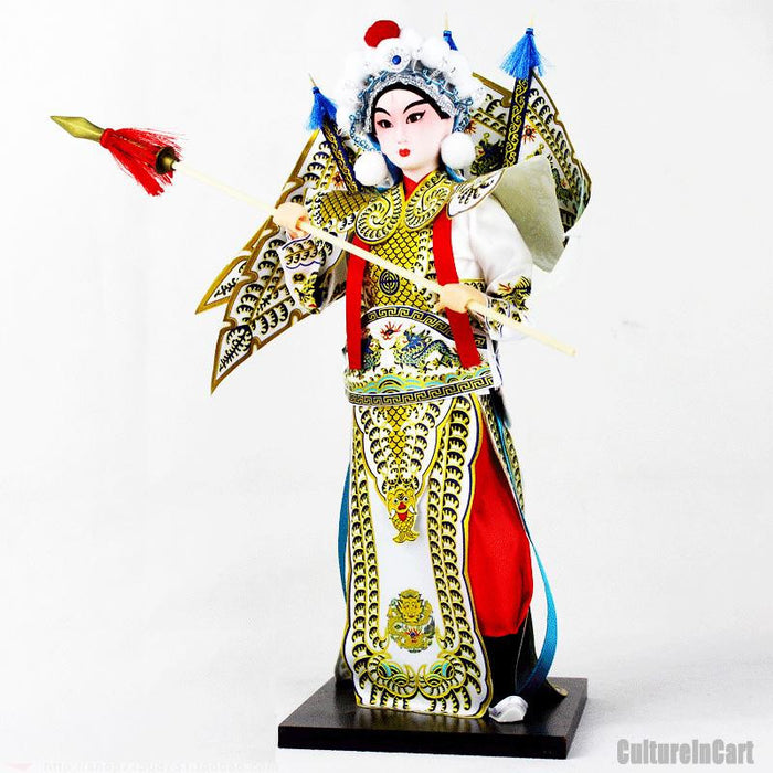 Romance of the Three Kingdoms Silk Figure - ZhaoYun - cultureincart.com