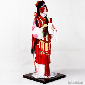 Romance of the Western Chamber Silk Figure - HongNiang