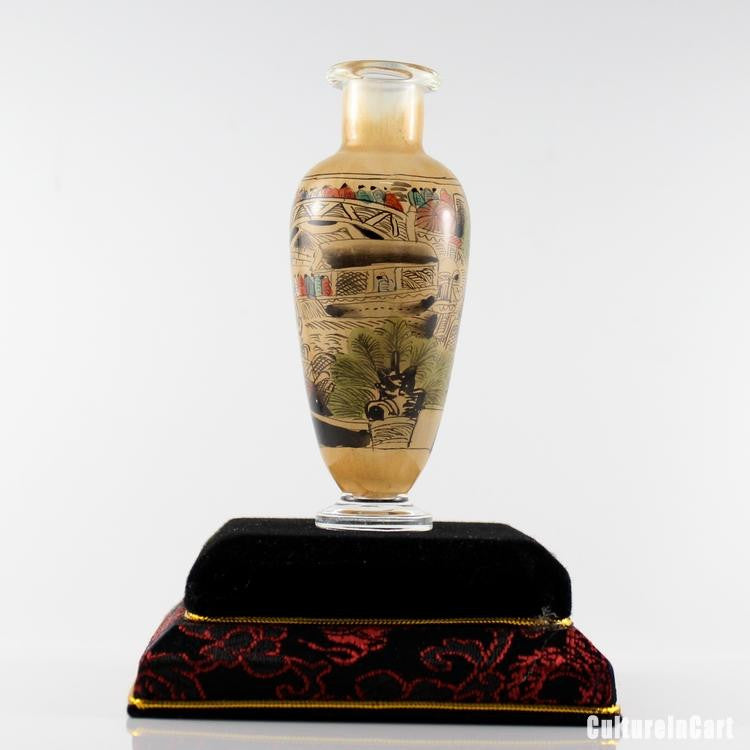 Along the River During the Qingming Festival Snuff Vase - cultureincart.com