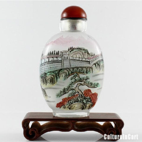 GreatWall Inner Painting Snuff Bottle