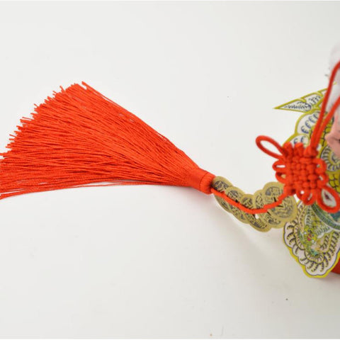 Traditional Handicraft  Ancient Coin Weaving Chinese Knot