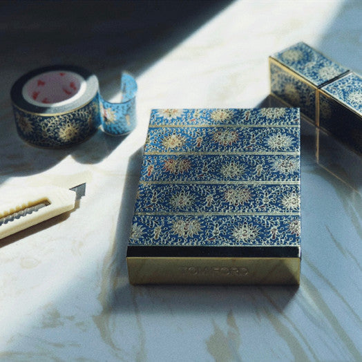 Enameled Twig Lotus Stationery Tape - cultureincart.com
